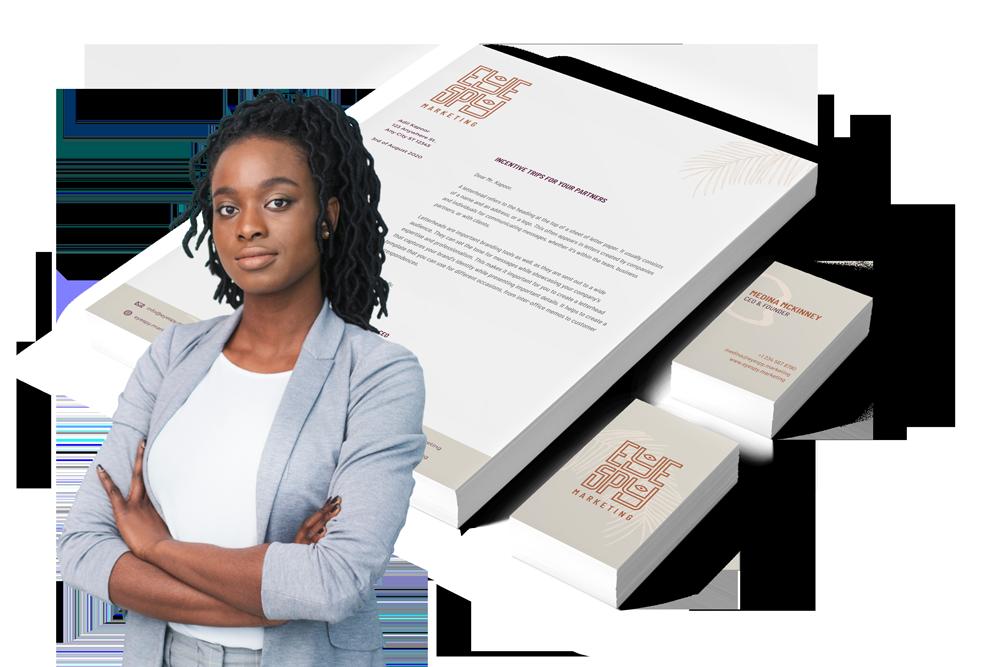 black woman website design